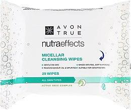 Kup Oczyszczające chusteczki micelarne - Avon Nutra Effects Micellar Cleansing Wipes