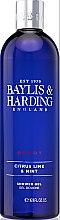 Kup Żel pod prysznic - Baylis & Harding Men's Citrus Lime & Mint Shower Gel