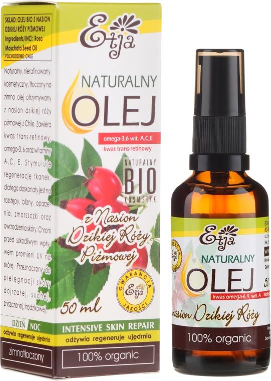 Naturalny olej z nasion dzikiej róży piżmowej - Etja Natural Oil