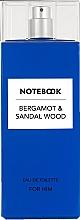 Kup Notebook Fragrances Bergamot & Sandal Wood - Woda toaletowa
