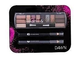 Kup Zestaw do makijażu oczu - Cosmetic 2K Night & Day Dawn (eye/sh 8,16 g + eye/pen 2 x 0,6 g)