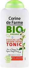 Kup Naturalny żel pod prysznic z ekstraktem z liści kwiatu pomarańczy - Corine De Farme Bio Tonic Shower Cream