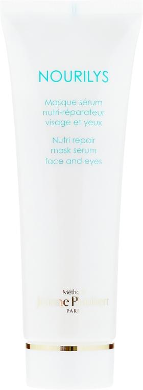 Odżywcze serum naprawcze w masce do twarzy i pod oczy - Méthode Jeanne Piaubert Nourilys Nutri Repair Mask Serum Face & Eyes — фото N2