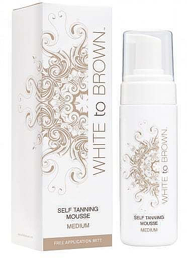 Mus samoopalający - White To Brown Self Tan Mousse Medium  — фото N1
