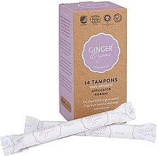 Kup Organiczne tampony z aplikatorem Normal, 14 szt. - Ginger Organic