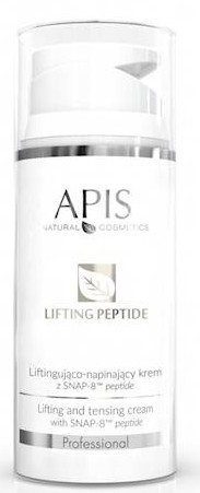 Krem do twarzy - APIS Professional Lifting Peptide Lifting And Tensing Cream
