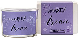 Kup Organiczna świeca zapachowa Lawenda - PuroBio Cosmetics Home Organic Ironic