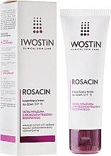 Kup Krem na dzień łagodzący skórę z trądzikiem różowatym SPF 15 - Iwostin Rosacin