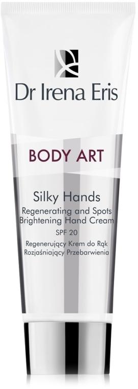 Regenerujący krem do rąk rozjaśniający przebarwienia - Dr Irena Eris Body Art Silky Hands