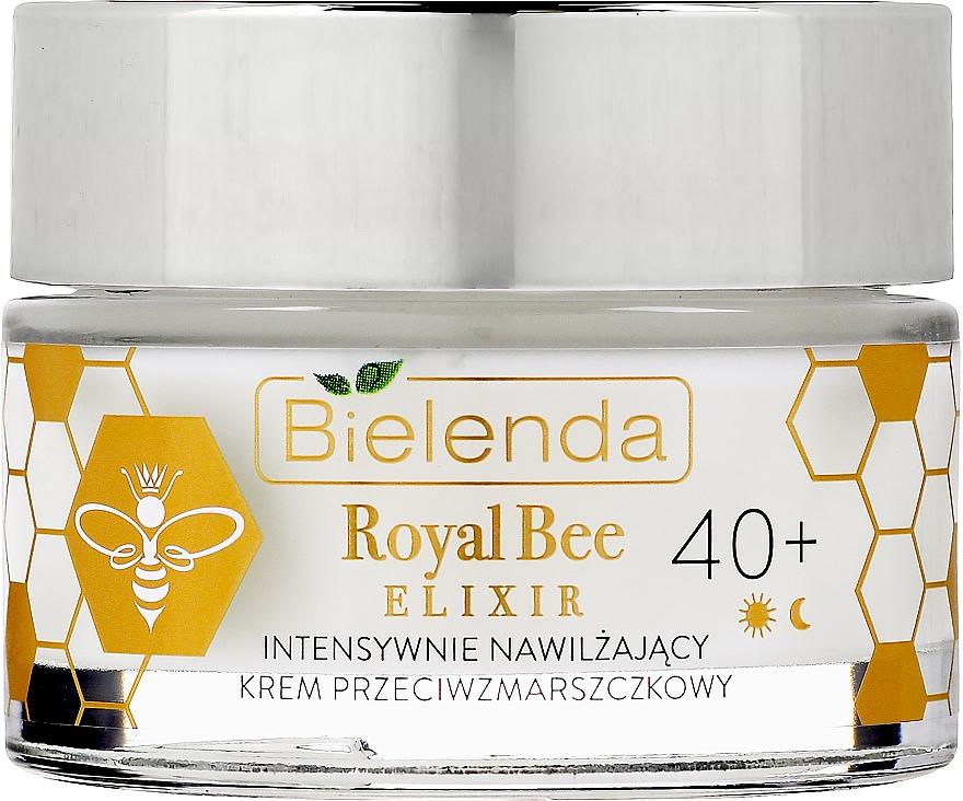 Intensywnie nawilżający krem przeciwzmarszczkowy - Bielenda Royal Bee Elixir 40+ Anti-Wrinkle Moisturizing Cream