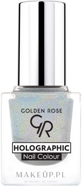 Lakier do paznokci - Golden Rose Holographic Nail Colour — фото 01