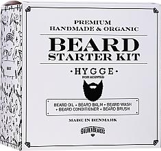 Kup Zestaw do makijażu - Golden Beards Starter Beard Kit Hygge (balm/60ml + oil/30ml + shm/100ml + cond/100ml + brush)