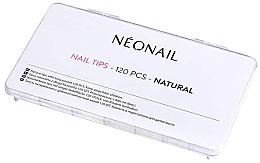 Kup Tipsy w naturalnym kolorze, 120 szt. - NeoNail Professional Nail Tips Natural