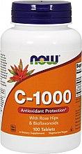 Kup Witamina C-1000 + dzika róża + bioflawonoidy - Now Foods c-1000 With Rose Hips & Bioflavonoids