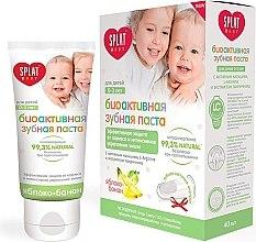 Kup Bioaktywna pasta do zębów dla dzieci 0–3 lata Jabłko i banan - SPLAT Baby Apple Banana