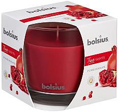 Kup PRZECENA! Świeca zapachowa w szkle Granat, 95 x 95 mm – Bolsius True Scents Candle *