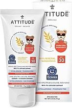 Kup Przeciwsłoneczny krem mineralny dla dzieci - Attitude Little Ones Sensitive Skin Sunscreen SPF 30