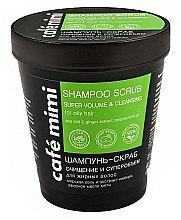 Kup Szampon-peeling do włosów Superobjętość i oczyszczenie - Cafe Mimi Scrub Shampoo