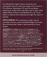 Regenerujący krem przeciwstarzeniowy do twarzy na noc - Sukin Purely Ageless Restorative Night Cream — фото N3