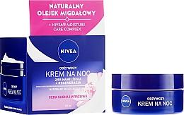 Kup Odżywczy krem na noc do cery suchej i wrażliwej 24h nawilżenia + regeneracja - Nivea 24H Moisturizing Regeneration & Nourishing Night Cream