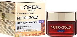 Kup Odżywczy krem do twarzy na noc - L'Oreal Paris Nutri Gold Night Cream