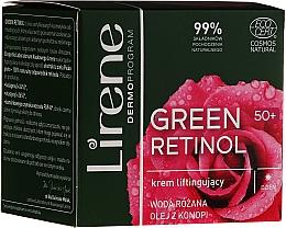 Kup Liftingujący krem do twarzy na dzień 50+ - Lirene Green Retinol Lifting Day Cream 50+