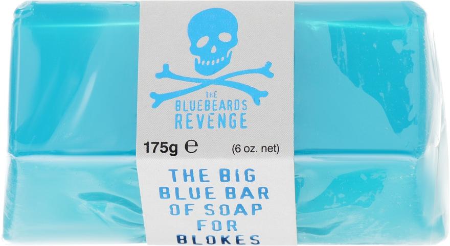 Mydło do twarzy i ciała dla mężczyzn - The Bluebeards Revenge Big Blue Bar of Soap For Blokes — фото N1