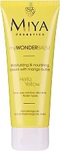 Nawilżająco-odżywczy krem do twarzy z masłem mango - Miya Cosmetics My Wonder Balm Hello Yellow Face Cream — фото N2