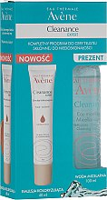 Zestaw - Avène Cleanance Expert (emul 40 ml + mic/water 100 ml) — фото N1