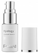 Kup Przeciwstarzeniowe serum do twarzy - ForLLe'd Hyalogy Platinum Essence