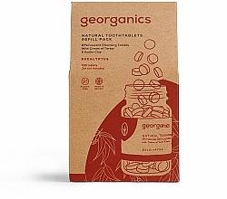 Kup PRZECENA! Naturalne tabletki do mycia zębów Eukaliptus - Georganics Natural Toothtablets Eucalyptus (uzupełnienie)*