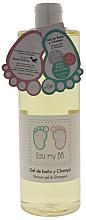 Kup Żel do mycia ciała i włosów dla dzieci - Air-Val International Eau My BB Shower Gel & Shampoo