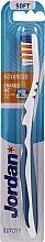 Kup Miękka szczoteczka do zębów bez nasadki, niebieska - Jordan Advanced Soft Toothbrush