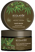 Kup Maska do włosów Wzmacniająca i teksturyzująca - Ecolatier Organic Cannabis Hair Mask