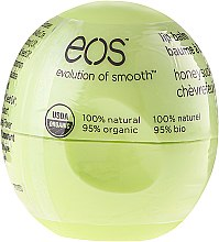 Kup Wygładzający balsam do ust Wiciokrzew - EOS Organic Honeysuckle HD Smooth Sphere Lip Balm