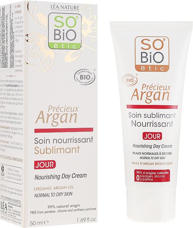 Odżywczy krem do twarzy na dzień - So'Bio Etic Nourishing Day Cream — фото N1