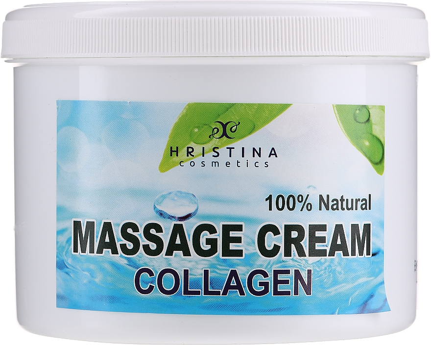 Krem do masażu twarzy i ciała - Hristina Cosmetics Collagen Massage Cream — фото N1