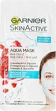 Kup Nawilżająca maska do twarzy z wyciągiem z granatu - Garnier SkinActive Aqua Mask