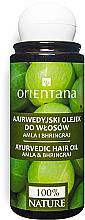 Kup Ajurwedyjski olejek do włosów Amla i bhringraj - Orientana