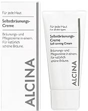 Kup Krem samoopalający - Alcina Self-Tanning Cream