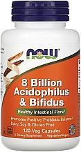 Kup Kapsułki wegetariańskie na zdrową florę jelitową - Now Foods 8 Billion Acidophilus & Bifidus