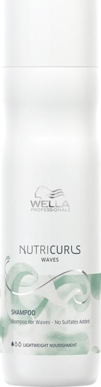 Szampon do włosów kręconych bez siarczanów - Wella Professionals Nutricurls Waves Shampoo — фото N1