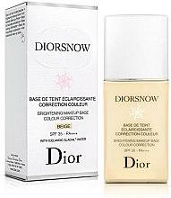 Kup Rozświetlająca baza pod makijaż - Dior Brightening Makeup Base Colour Correction SPF35 PA+++