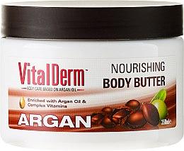 Kup Odżywcze masło do ciała Argan - VitalDerm Argan Nourishing Body Butter