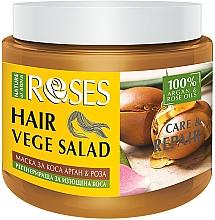 Kup Maska z olejem różanym i arganowym do włosów zniszczonych - Nature of Agiva Roses Care & Repair Hair Mask