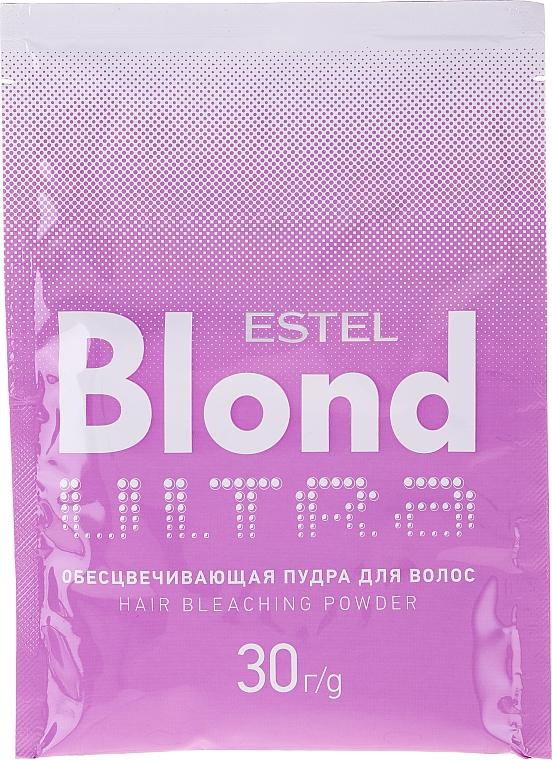 Niebieski puder rozjaśniający włosy - Estel Only Ultra Blond