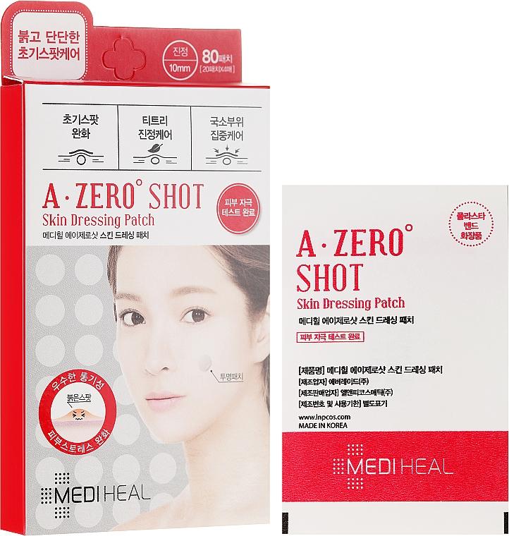 Punktowe plastry do twarzy - Mediheal A-Zero Shot Skin Dressing Spot Patch