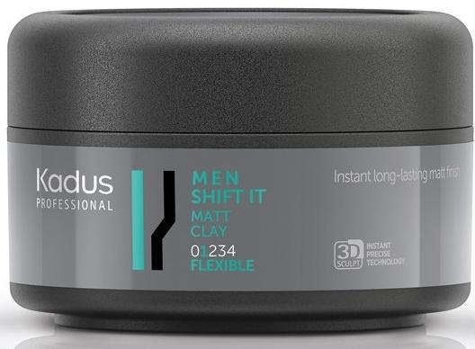 Matująca glinka do stylizacji włosów, lekkie utrwalenie - Kadus Professional Men Shift It Matt Clay — фото N1