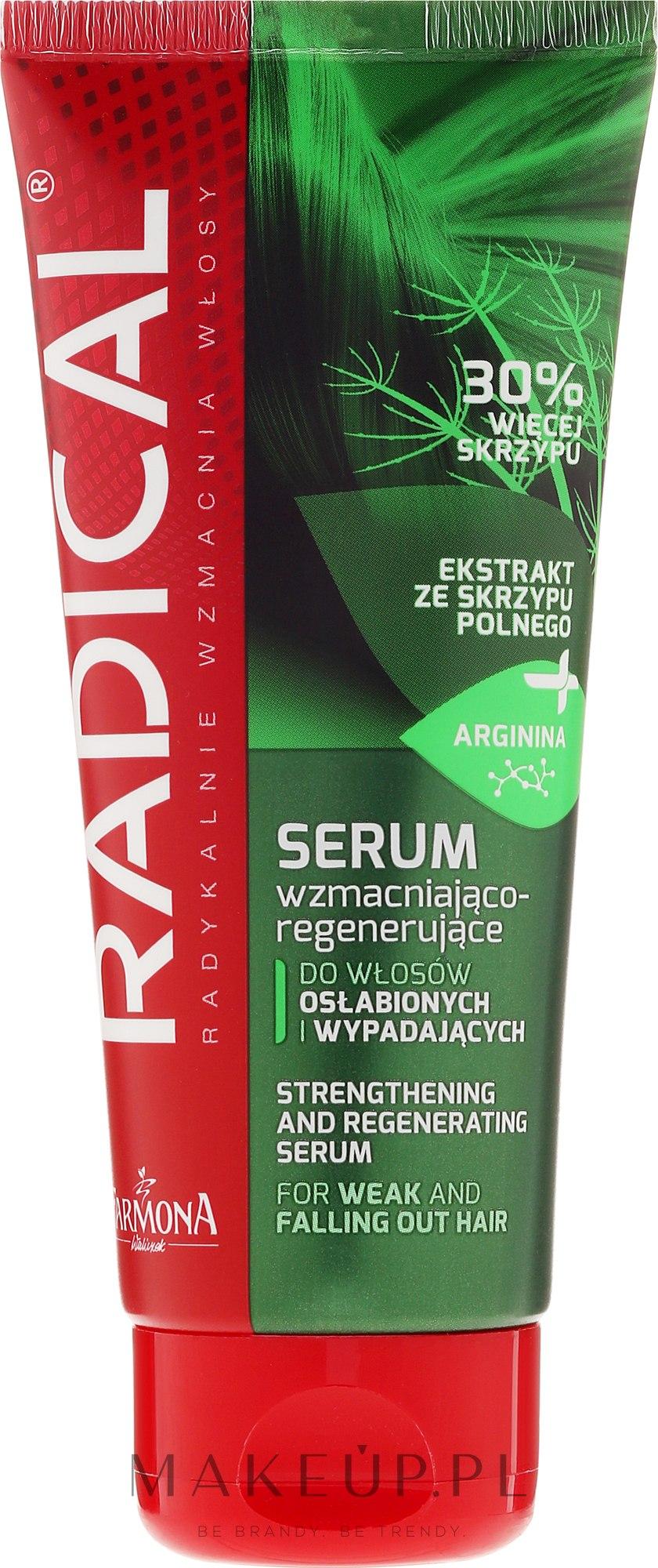 Serum wzmacniająco-regenerujące do włosów osłabionych i wypadających - Farmona Radical — фото 100 ml