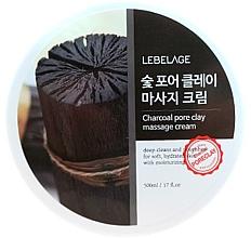 Kup PRZECENA! Węglowy krem do masażu - Lebelage Charcoal Pore Clay Massage Cream *